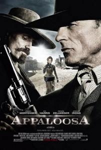 Poster in inglese del film Appaloosa del 2009 di e con Ed Harris