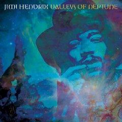 Copertina di Valleys Of Neptune, il nuovo disco di Jimi Hendrix