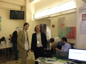 2ndQuadrant Professional PostgreSQL at Pycon4. Italian Team with a Guest