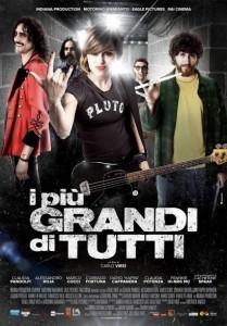 """Poster del film """"I più grandi di tutti"""" con Claudia Pandolfi, Marco Cocci per la regia di Carlo Virzì"""