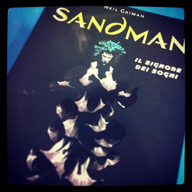In casa si legge solo capolavori e grandi classici #fumetti #neilgaiman #sandman