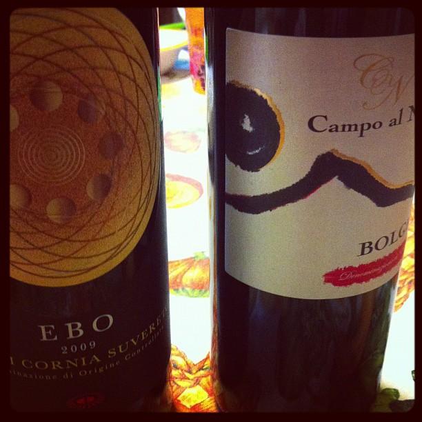 """Quando mi manca l'aria di """"casa"""", Guapa mi compra almeno il vino...#castagnetocarducci rulez"""
