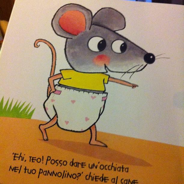 Dite ciao a Topotto, topolino curioso