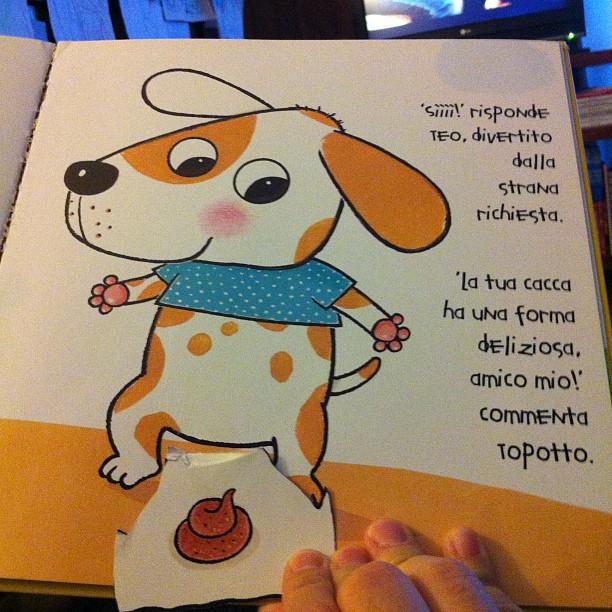 Ed ecco Teo, il cagnolino...