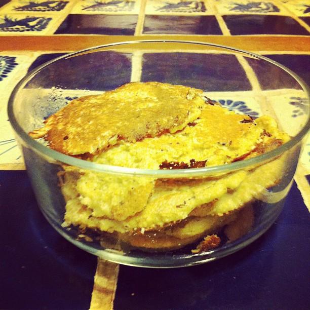 Frittelline per la colazione fatte. #dieta