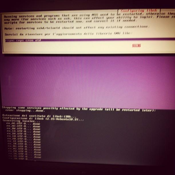 Screenshot di classe #ubuntu12
