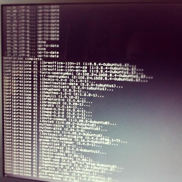 Ci quasi siamo #ubuntu12 upgrade