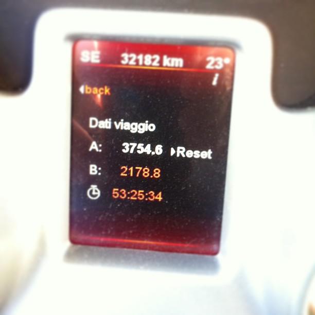 14 giorni3754 km per 53 ore e 26 minuti.#solotour