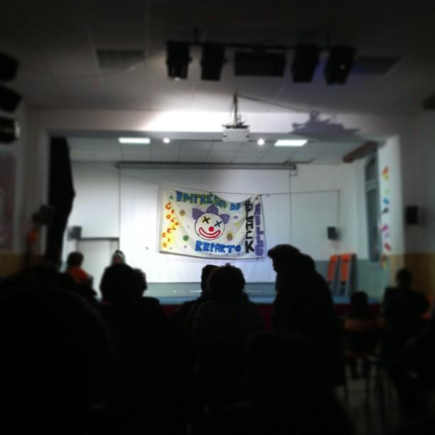 Spettacolo di giocoleria #scout #prato