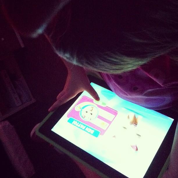 """Verdure e il """"suo"""" iPad"""