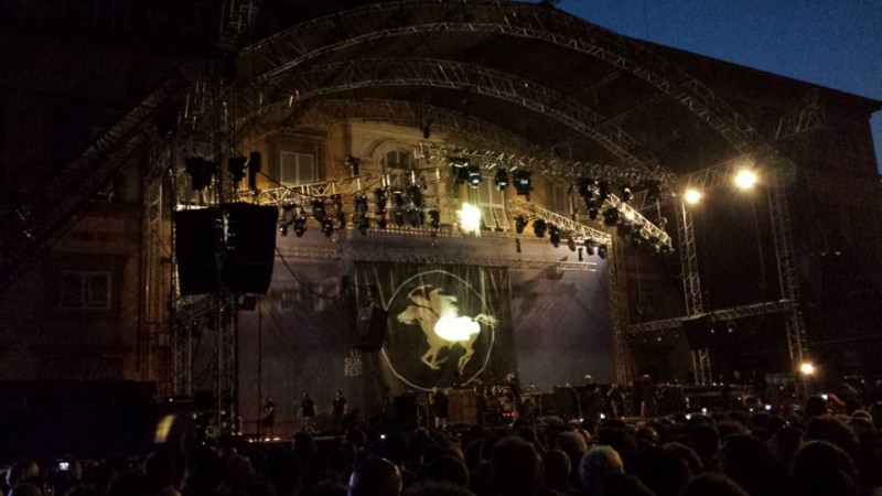 Neil Young Crazy Horse Live 2013 Lucca Summer