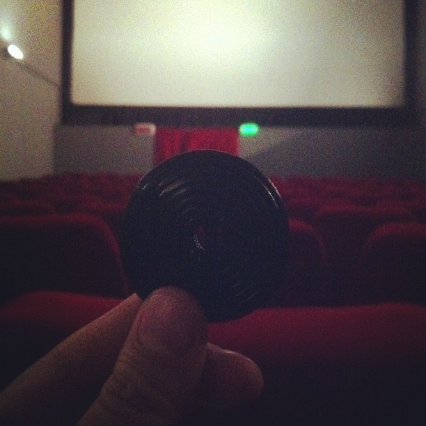 Una piccola sala cinematografica tutta per noi e l'ultima girella di liquirizia#magicmoment