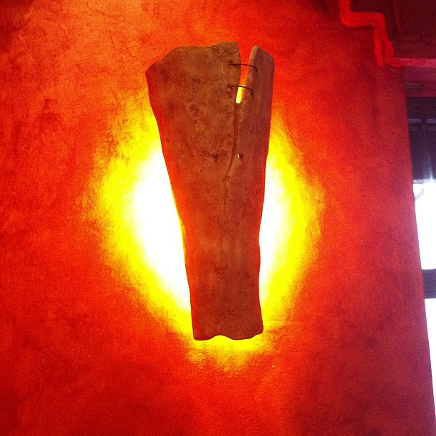 Pizzeria in Firenze. Particolari, niente filtri