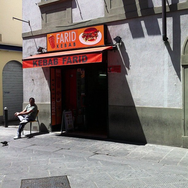 Far west (e east) #Prato #Farid #kebab