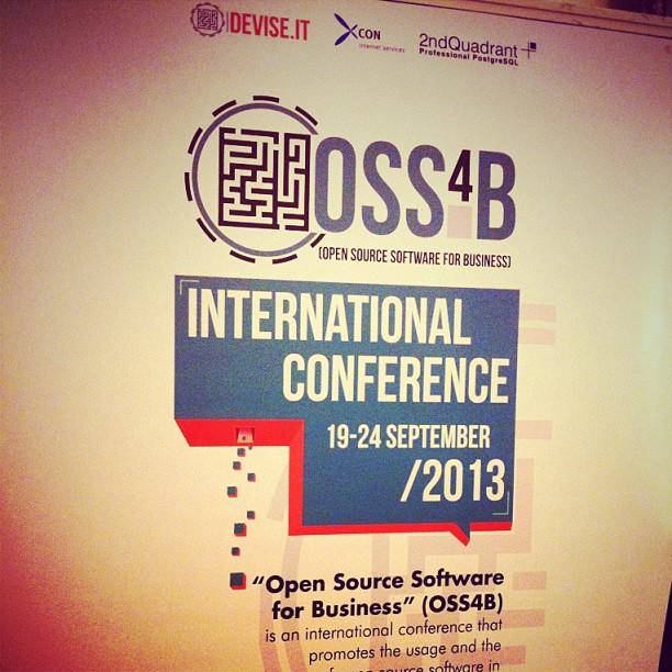Oggi (e domani) a #Prato c'è. #oss4b2013#kanban #opensource #agile @devise_it